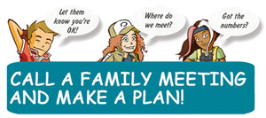 Call a Famliy Meeting and Make a Plan!